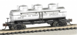 Bachmann 17155 N Scale 3-Dome Tank Carbide And Carbon Chemicals